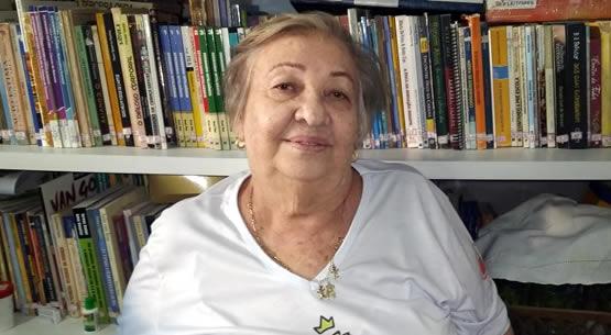 Tia Oscarlina convida para missa no dia do professor