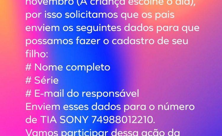 Inscreva seu filho ou filha na Olimpíada Brasileira de Astronomia e Astronáutica (OBA)