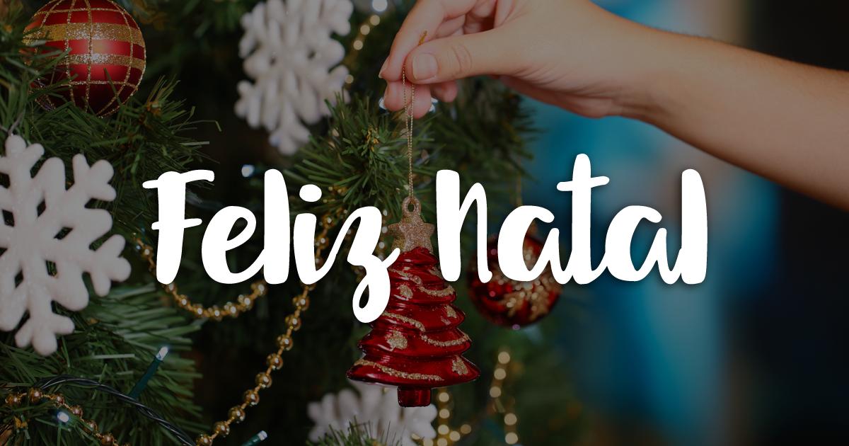 Um feliz Natal a todos.